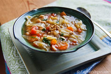 easy cabbage soup recipe vegetarian simple cabbage and chickpea soup with fresh basil recipe