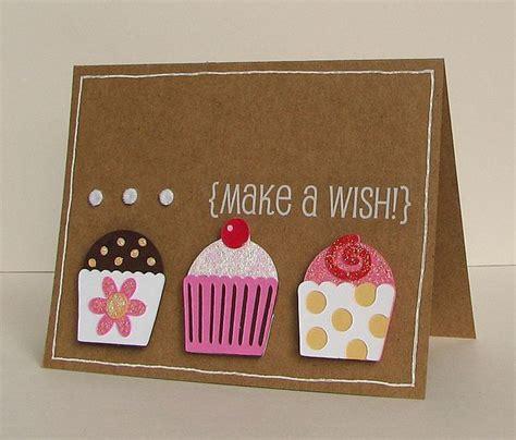 cupcake cards to make make a wish cupcake sweet treats cricut birthday