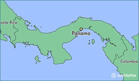 panama city panama map where is panama panama panama panama map worldatlas