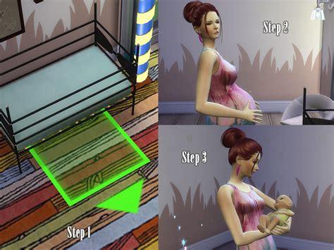 sims 4 cc baby funtioneri kiolometro s baby and crib