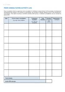spa cpd journal template 2011