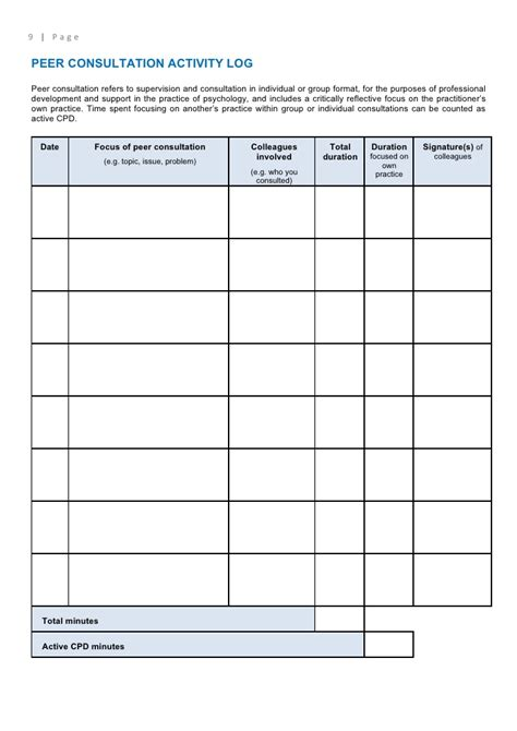 Sle Supervision Log Related Keywords Sle Screening Log Clinical Trial Template