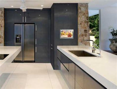 modern built in kitchen cupboards 7 modern kitchen design trends stylishly incorporating tv