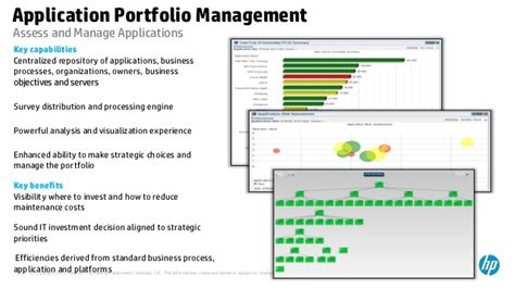 Project And Portfolio Management Application Portfolio Rationalization Template