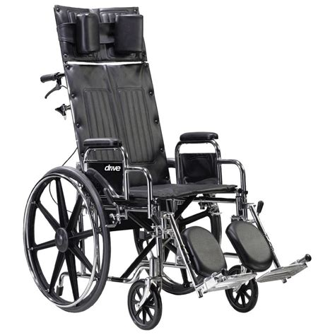 reclining wheelchair reviews drive deluxe sentra full reclining dual axle wheelchair