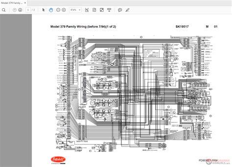 Peterbilt 379 Electrical Diagram Wiring Wiring Diagram
