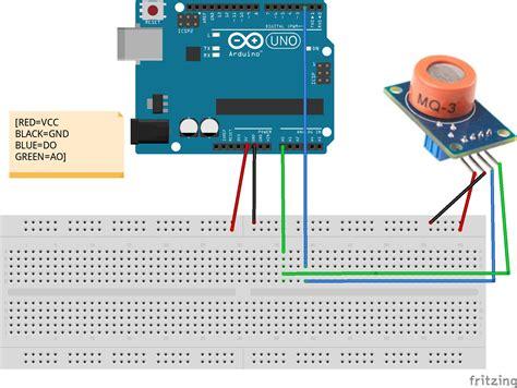 Soket Sensor Seri Mq 6 Pin use arduino to drive mq3 sensor 171 osoyoo