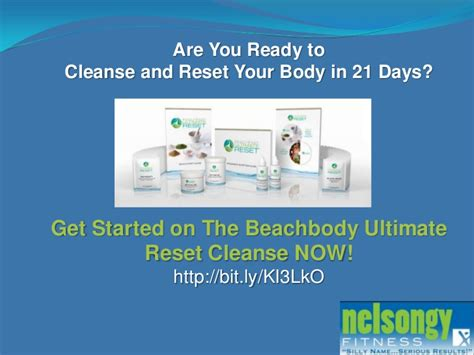 The Ultimate Reset Detox by Official Review The Beachbody Ultimate Reset Cleanse