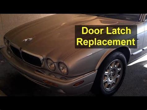 2003 jaguar xj series rear door handle replacement jaguar xj8 door will not open door panel removal latch