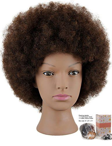 afro styling tips kalyx mannequin head african american with 100 human hair