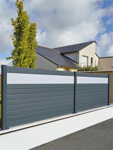 Terrassenüberdachung Aus Aluminium Und Glas by Wpc Sichtschutz Anthrazit Alu Zz19 Hitoiro