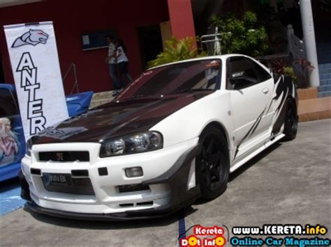 kereta skyline modified nissan skyline r34 indran antera