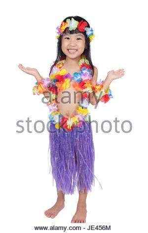 chinese hula dancers little girl with hawaiian costume of hula dancer hula