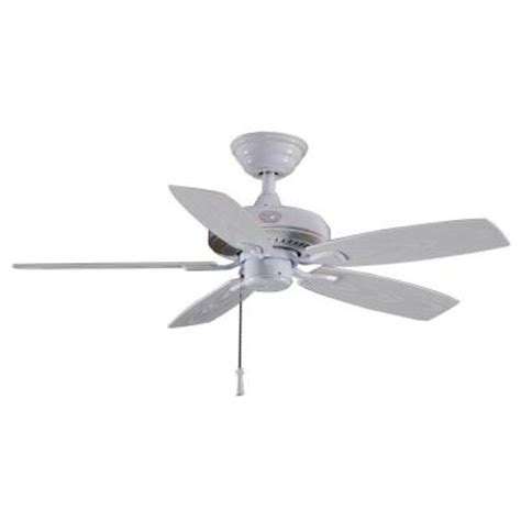 Hton Bay 42 Inch Ceiling Fan by Hton Bay Gazebo Ii 42 In White Indoor Outdoor Ceiling