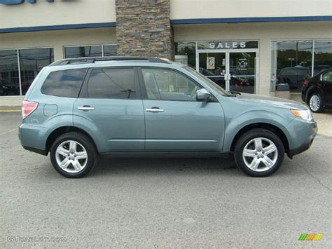 subaru light green 2009 green metallic subaru forester 2 5 x l l bean