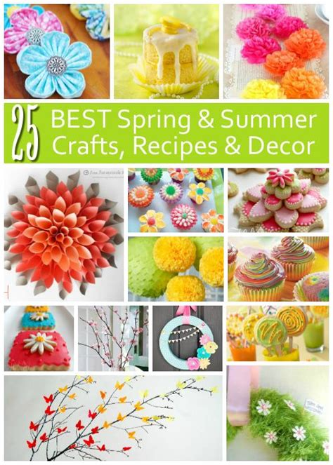 diy crafts ideas 25 best spring and summer crafts