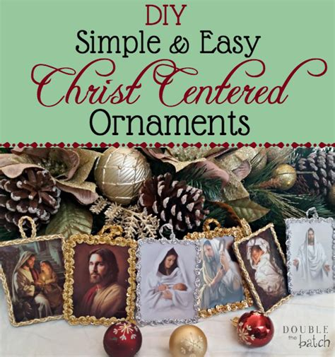 religious ornaments to make diy simple and easy centered ornaments somewhat simple creative team