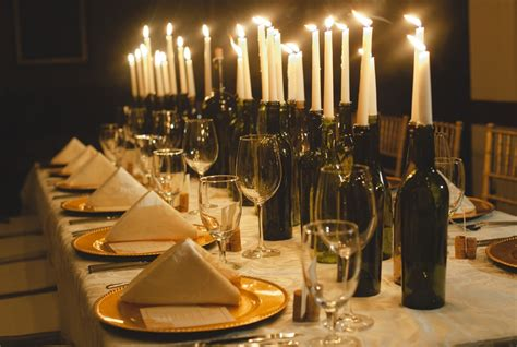 wine bottles with candles in them centerpieces for weddings brilliant ideas for a memorable