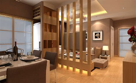 living and dining white partition between hall and dining 3d house free