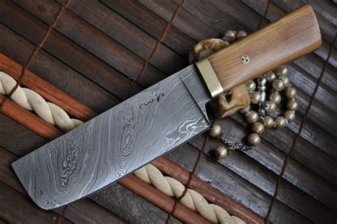 Handmade Kitchen Knives Uk now on sale chef knife damascus knife by perkin knives
