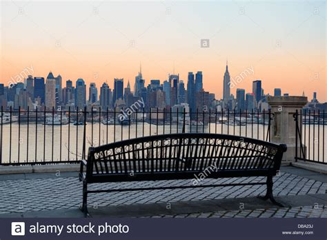 work bench new york bench in park and new york city midtown manhattan at