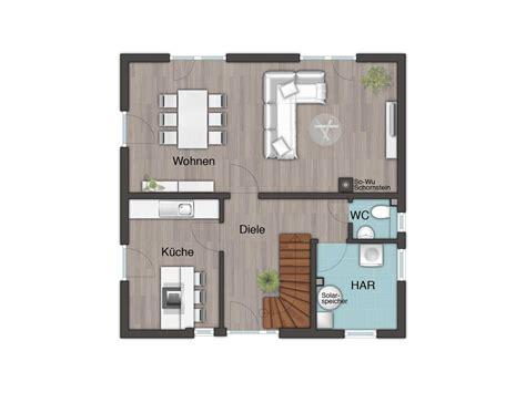 Grundriss Quadratisches Haus by Stadthaus Flair 124 Bauprojektierung Meyer Town