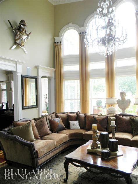 two story window drapes two story window treatments for arched windows blulabel
