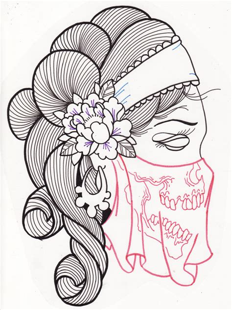 sugar skull woman tattoo designs sugar skull design 2 tattoos book