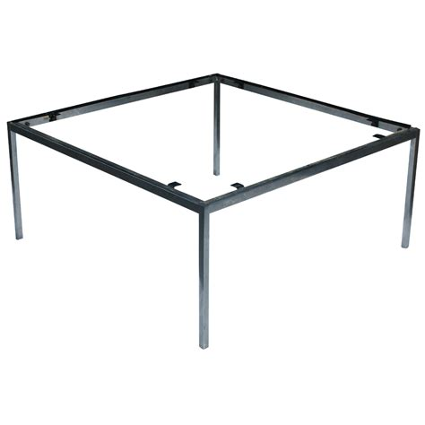 coffee table base 36 quot vintage knoll chrome coffee table base ebay