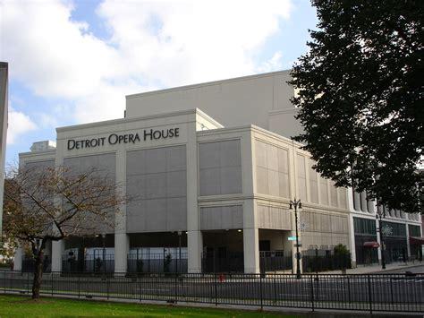 opera house detroit detroit opera house wikipedia