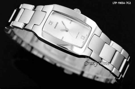 Jam Tangan Casio Ltp 1165 Silver jam tangan casio wanita original ltp 1165 rantai warna silver