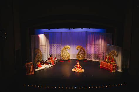 Home Decor Ideas For Indian Wedding backstage at an arangetram kendrick brinson
