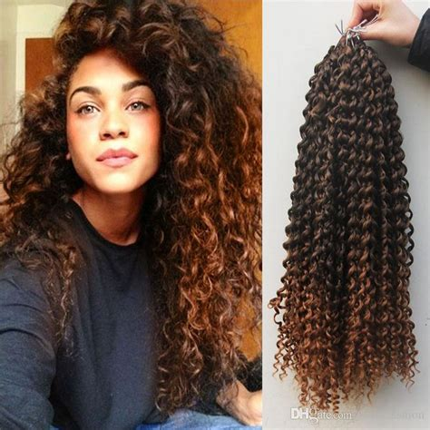 Fashion 18 Synthetic Curly Crochet Hair Extensions For