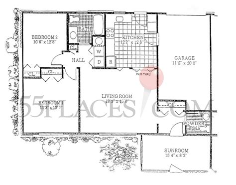Leisure Village Floor Plans | baronet ii floorplan 1424 sq ft leisure village west