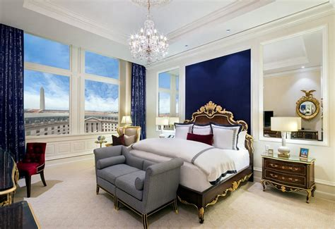 trump bedroom donald trump hits washington d c with an extravagant presidential suite and new luxury hotel