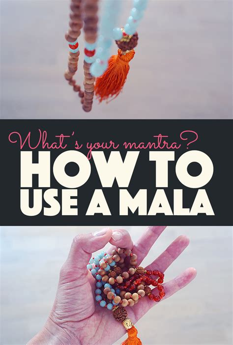 how to use mantra how to use a mala what s your mantra banana bloom