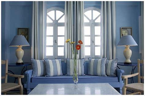 interior blue greek interior decor