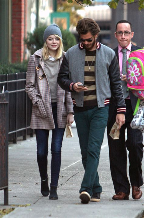 emma stone andrew garfield emma stone and andrew garfield in rag bone jeans