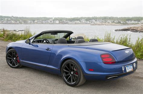 bentley sport convertible 2012 bentley continental supersports convertible w video