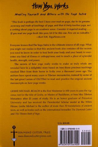 libro how yoga works healing yourself and others with the yoga sutra di geshe michael roach