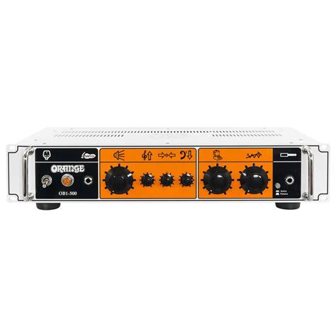orange ob1 500 bass at gear4music