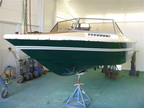 awlgrip paint new graphics new swim deck starboard marine repair service boat repair
