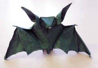 origami bat andrea bat papercraftsquare free papercraft download