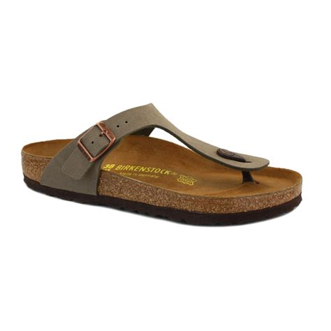 berkinstock slippers birkenstock gizeh womens slip on flip flops leather