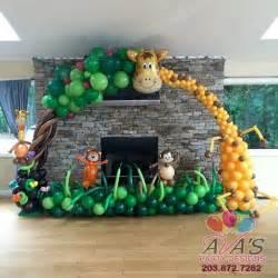 dschungel dekoration 1000 ideas about balloon arch on balloon