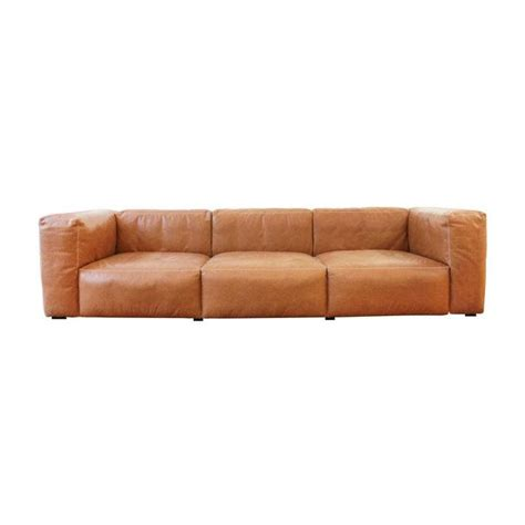 hay mags sofa mags soft 3 seater leather sofa hay ambientedirect