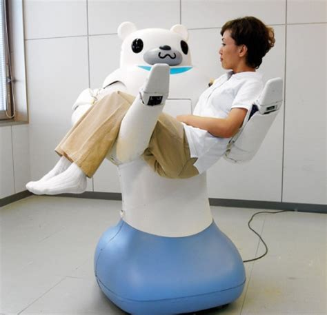 Vs Machine Robots At Japanese Hospital by Care Robot Robot That Care Or Grant Social Contact