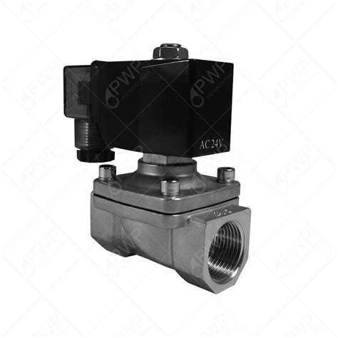 Solenoid Valve 2 Stainless 304 12v 1 2 quot npt normally closed stainless steel viton 2 way solenoid valve ebay