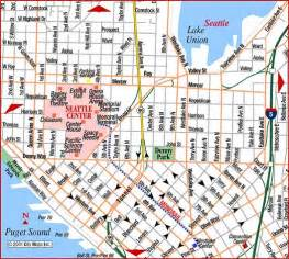 Street Map Of Seattle by Road Map Of Seattle North Seattle Washington