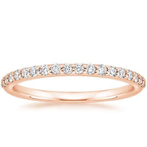 Petite Shared Prong Diamond Ring (1/4 ct. tw.) in 14K Rose
